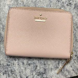 Kate Spade Pink Zip Around Wallet
